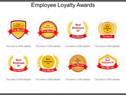 Employee Loyalty Awards