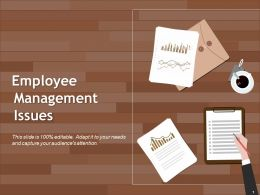 Employee Management Issues Powerpoint Slide