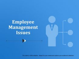 Employee Management Issues Powerpoint Slides