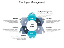 Employee Management Ppt Powerpoint Presentation File Icons Cpb