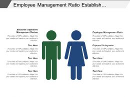 Employee Management Ratio Establish Objectives Management Review