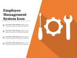 Employee Management System Icon