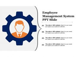 Employee Management System Ppt Slide