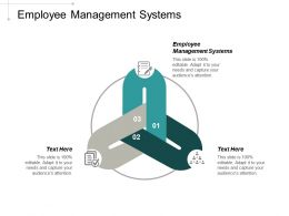 Employee Management Systems Ppt Powerpoint Presentation Portfolio Templates Cpb
