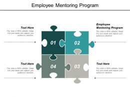 Employee Mentoring Program Ppt Powerpoint Presentation Outline Master Slide Cpb