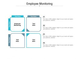 Employee Monitoring Ppt Powerpoint Presentation Summary Guidelines Cpb