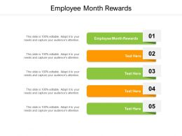 Employee Month Rewards Ppt Powerpoint Presentation Show Graphics Example Cpb