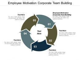 Employee Motivation Corporate Team Building Ppt Powerpoint Presentation Infographics Samples Cpb