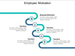Employee Motivation Ppt Powerpoint Presentation Icon Visuals Cpb