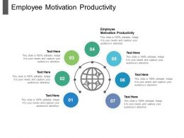 Employee Motivation Productivity Ppt Powerpoint Presentation Layouts Samples Cpb