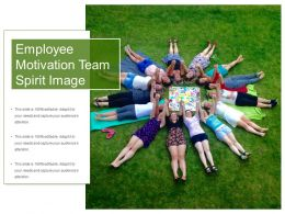 Employee Motivation Team Spirit Image