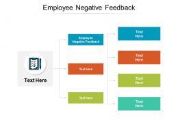 Employee Negative Feedback Ppt Powerpoint Presentation Slides Show Cpb