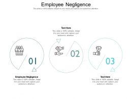 Employee Negligence Ppt Powerpoint Presentation Show Slide Portrait Cpb