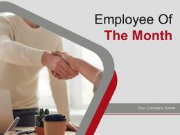 Employee Of The Month Powerpoint Presentation Slides