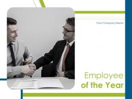 Employee Of The Year Powerpoint Presentation Slides