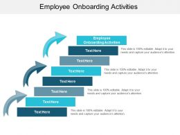 Employee Onboarding Activities Ppt Powerpoint Presentation Professional Inspiration Cpb