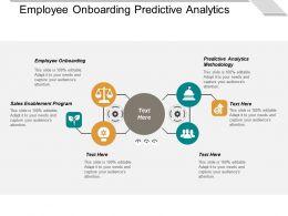 Employee Onboarding Predictive Analytics Methodology Sales Enablement Program Cpb