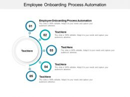Employee Onboarding Process Automation Ppt Powerpoint Presentation File Outline Cpb