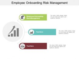 Employee Onboarding Risk Management Ppt Powerpoint Presentation Portfolio Backgrounds Cpb