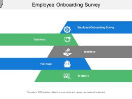 Employee Onboarding Survey Ppt Powerpoint Presentation Slides Rules Cpb