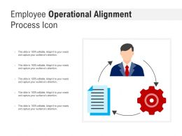 Employee Operational Alignment Process Icon
