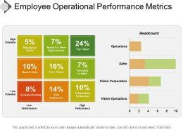 Employee Operational Performance Metrics Ppt Image