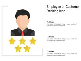 Employee Or Customer Ranking Icon