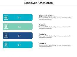 Employee Orientation Ppt Powerpoint Presentation Inspiration Model Cpb