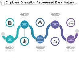 employee_orientation_represented_basic_matters_introduction_explaining_organization_Slide01