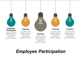 Employee Participation Ppt Powerpoint Presentation Gallery Example File Cpb