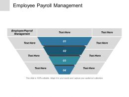 Employee Payroll Management Ppt Powerpoint Presentation Outline Templates Cpb