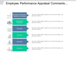 Employee Performance Appraisal Comments Employee Comments Review Loss Prevention Cpb