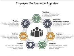 Employee Performance Appraisal Ppt Powerpoint Presentation Pictures Master Slide Cpb