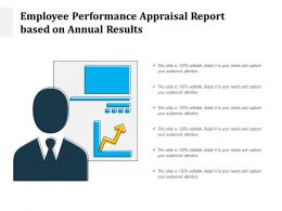 Employee Performance Appraisal Report Based On Annual Results