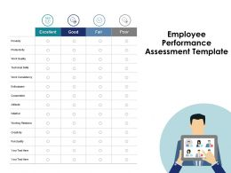 Employee Performance Assessment Cooperation Ppt Powerpoint Presentation Pictures Demonstration