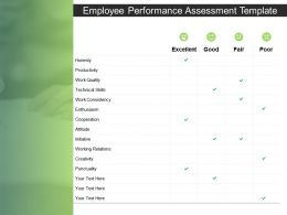 Employee Performance Assessment Technical Skills Ppt Powerpoint Presentation Ideas