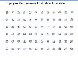 Employee Performance Evaluation Icon Slide Evaluation K265 Powerpoint Presentation
