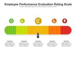 Employee Performance Evaluation Rating Scale Infographic Template