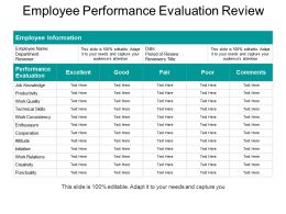 Employee Performance Evaluation Review