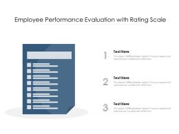 Employee Performance Evaluation With Rating Scale