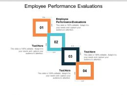 Employee Performance Evaluations Ppt Powerpoint Presentation Inspiration Cpb