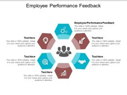 Employee Performance Feedback Ppt Powerpoint Presentation Model Information Cpb