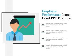 Employee Performance Icons Good Ppt Example