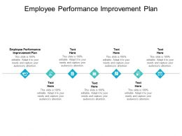 Employee Performance Improvement Plan Ppt Powerpoint Presentation Icon Layout Cpb