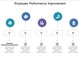 Employee Performance Improvement Ppt Powerpoint Presentation File Clipart Images Cpb