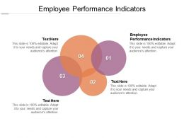 Employee Performance Indicators Ppt Powerpoint Presentation Pictures Layout Ideas Cpb