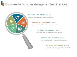 Employee Performance Management Best Practices Ppt Sample