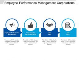 Employee Performance Management Corporations Internet Marketing Lean Time Management Cpb
