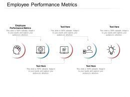 Employee Performance Metrics Ppt Powerpoint Presentation Infographic Template Summary Cpb