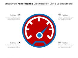 Employee Performance Optimization Using Speedometer